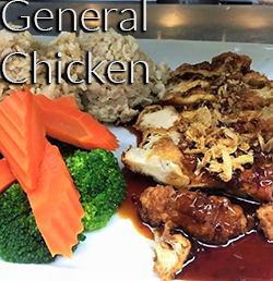 General Chicken Lunch